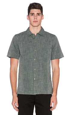 Obey Carson Button Up in Grey Multi