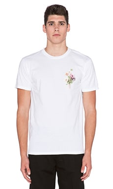 Obey Confident Floral Tee in White
