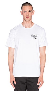 Obey Party Please Tee in White