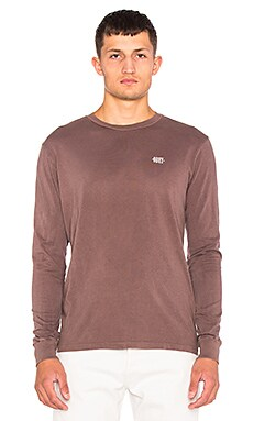 Obey New Times Micro L/S Tee in Iron