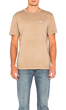 Obey New Times Micro Tee in Clay