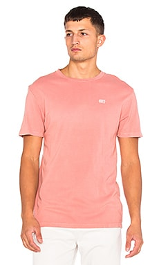 Obey New Times Micro Tee in Rose