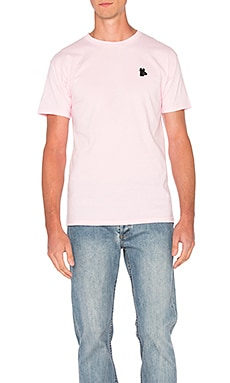 Obey Tear Drop Tee in Pink