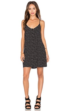 Obey Terri Dress in Black Multi