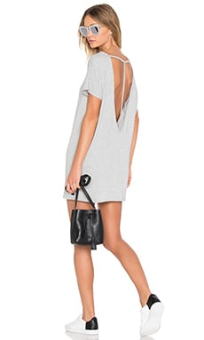 Obey T-Back Tunic in Heather Grey