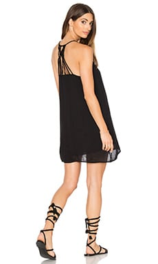 Paint Bloom Dress in Black