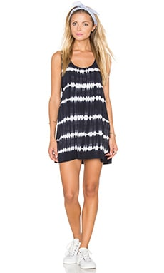 Dark Alley Dress in Black Multi