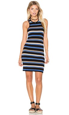 Seymour Dress in Navy Multi