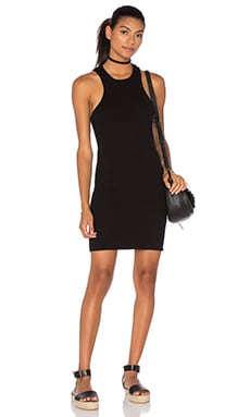 Obey Seymour Dress in Black