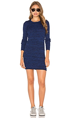 Obey Hanna Dress in Blue Jay
