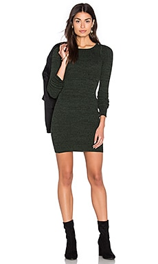 Obey Hanna Dress in Forest Army