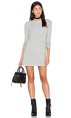 Obey Sarra Dress in Heather Grey