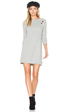 Pin-Up Sarra Dress in Heather Grey
