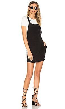 Jinx Jumper Dress in Black