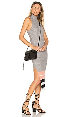 Marina Dress in Heather Grey Multi