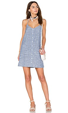 Sanders Dress in Chambray Multi