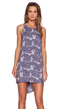 Obey Wyatt Dress in Blue Multi