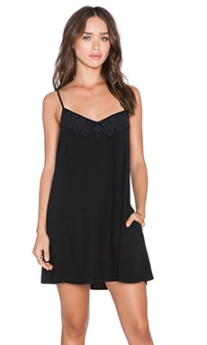 Obey Amaya Dress in Dusty Black