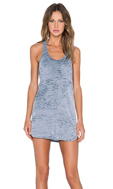 Obey Slater Dress in Evening Blue