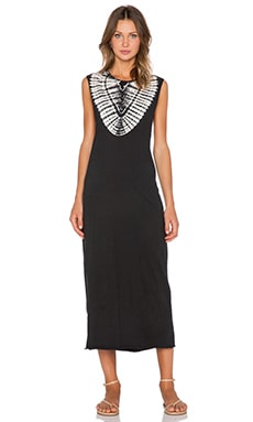 Obey Zephyr Dress in Jet Black