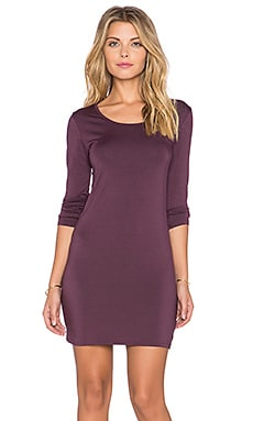 Obey Amanda Dress in Grape Wine