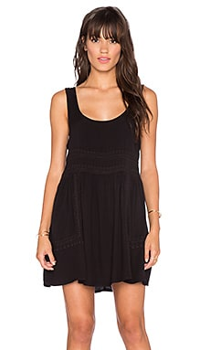 Obey Harrison Dress in Black