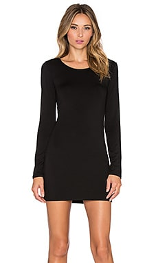 Obey Amanda Dress in Black