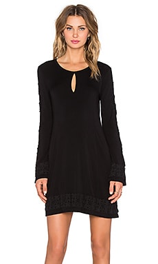 Obey Mazzy Dress in Black