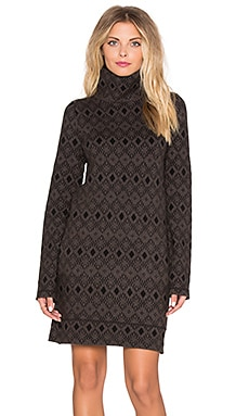 Obey Charlie Sweater Dress in Black