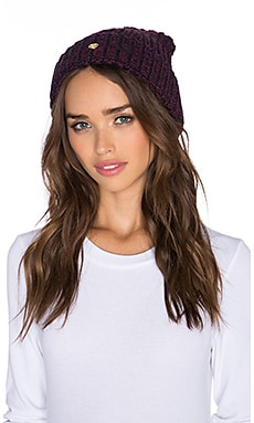 Obey Maywood II Beanie in Dress Blue & Port Royale