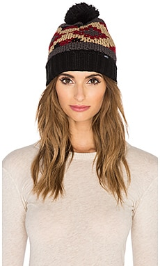 Obey Adri Beanie in Charcoal