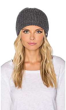 Obey Alison Beanie in Heather Grey