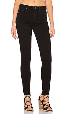Obey Gold Rush Skinny Pant in Black
