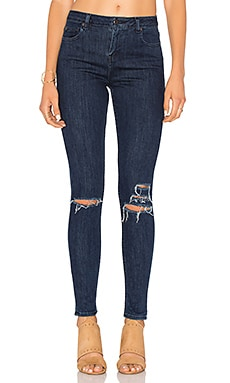 Obey Slasher Skinny Jean in Dark Indigo