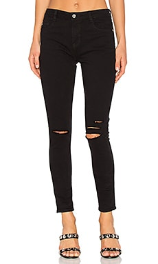 Slasher Skinny II Jeans in Black