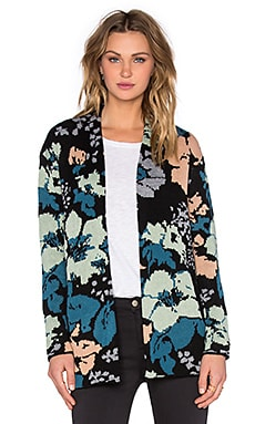 Obey Chloe Cardigan in Floral