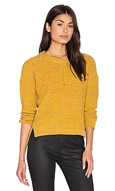 Obey Judith Crew Sweater in Honey