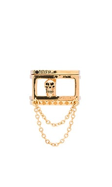 Obey Nias Stackable Rings in Gold