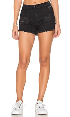 Obey Saloon Short in Black