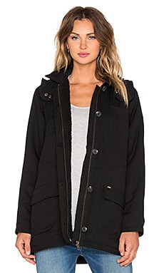 Obey Fairfield Jacket in Black
