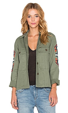 Obey Brighton Overshirt in Army