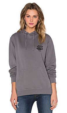 Obey Day of the Dead Camden Hoodie in Dusty Charcoal