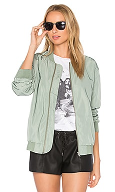 Mako Bomber Jacket in Sage