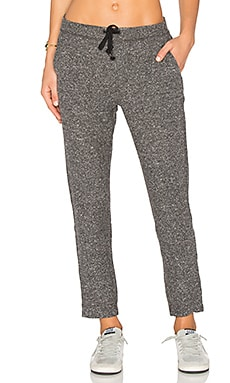Sutter Pant in Heather Black