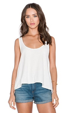 Obey Havana Tank in Cloud White