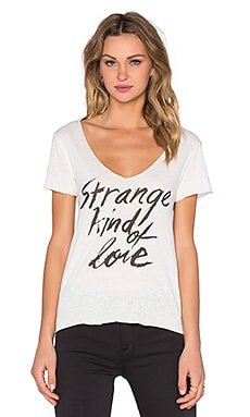Obey Strange Kind of Love Dylan Tee in Natural