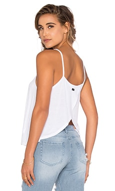 Anya Open Back Tank in White