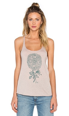Mandala Ceremonial Track Tank in Rose Dust
