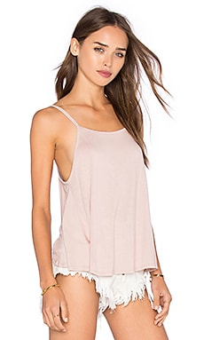 Anya Open Back Tank in Rose Dust