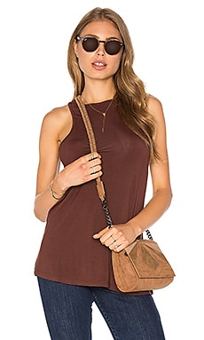 Obey Olivia Tank in Raisin
